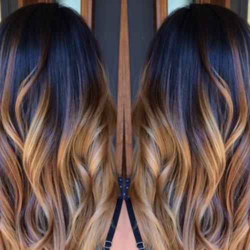 Moda capelli autunno 2018 dark gold