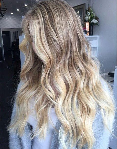 Colore capelli inverno 2019 biondo