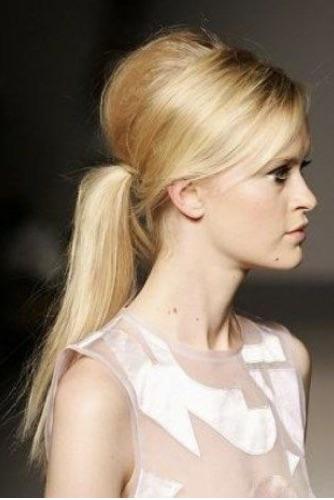 Acconciatura capelli lunghi coda