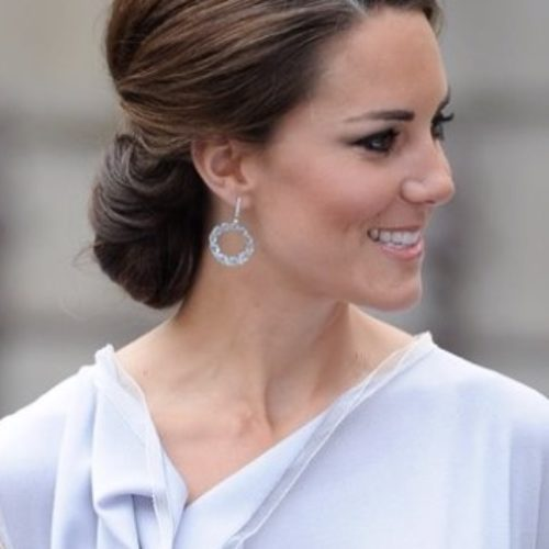Acconciatura raccolta kate middleton