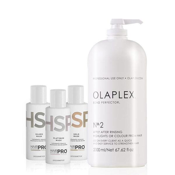 Kit Olaplex 2 biondo perfetto