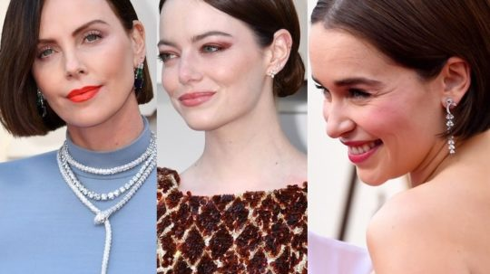 Capelli vip star hollywood oscar 2019