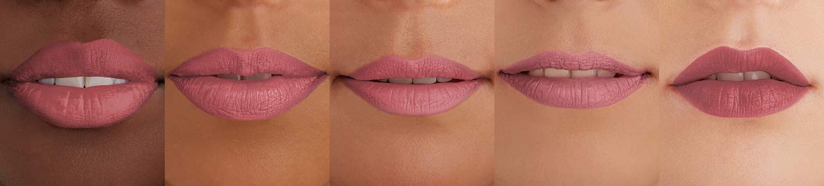 Dusty rose rossetto mat ecru new york