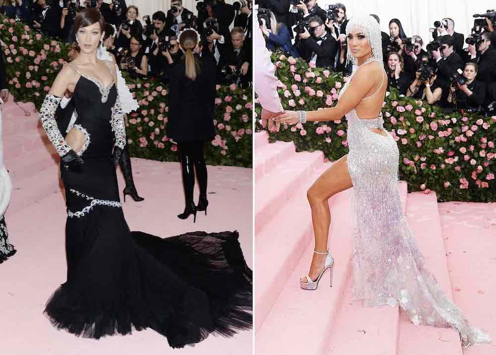Bella Hadid Jennifer Lopez met gala 2019