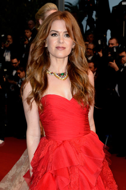 Capelli a onde isla fisher cannes