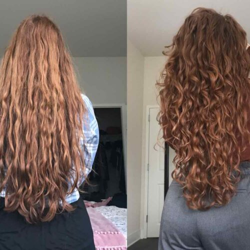 capelli ricci curly girl method
