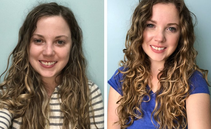 come fare capelli ricci curly girl method