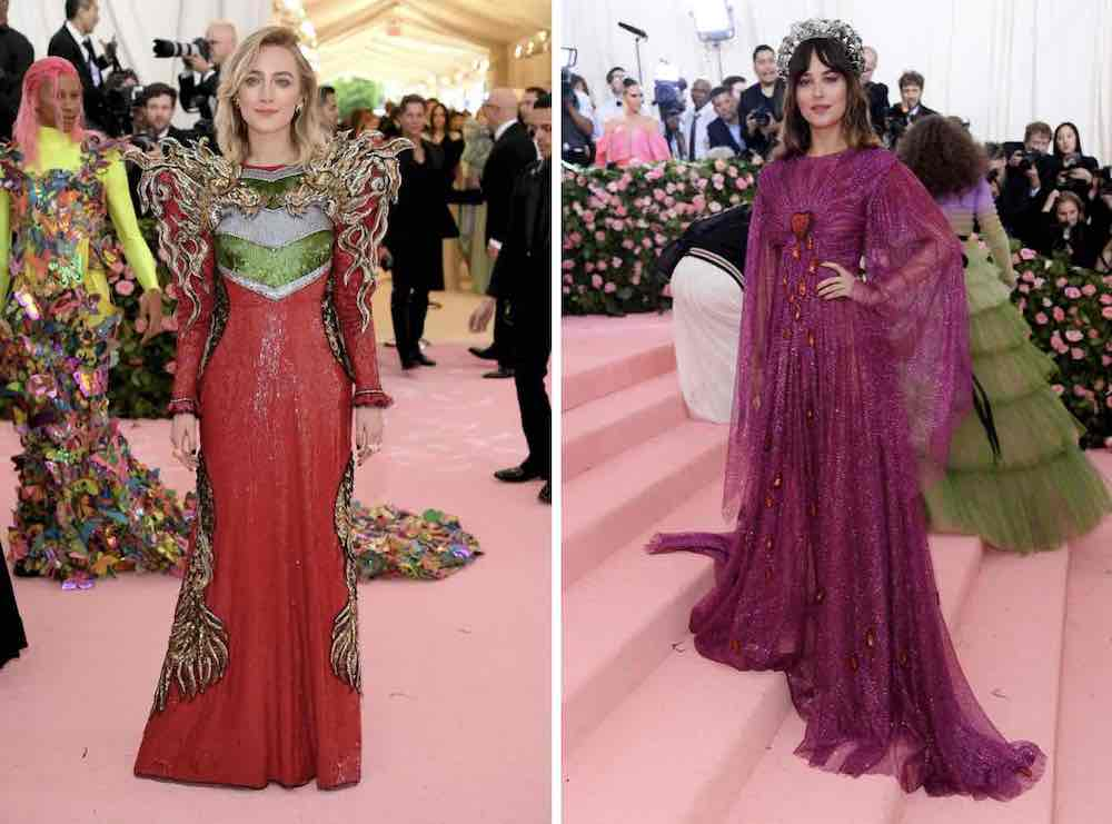 Saoirse Ronan Dakota Johnson met gala 2019