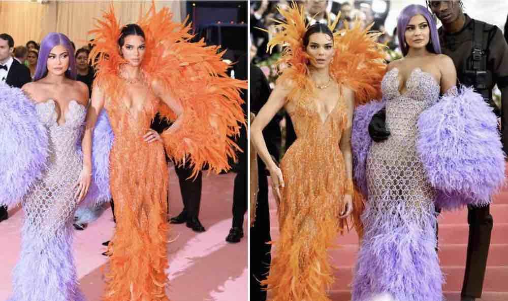 Sorelle jenner kardashian met gala 2019