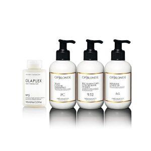 Kit Olaplex OP Blonde biondo miele