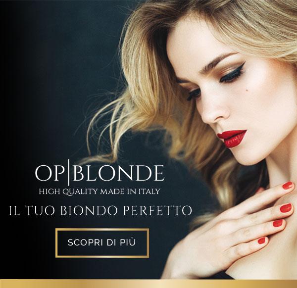 slider prodotti professionali capelli op blonde mobile