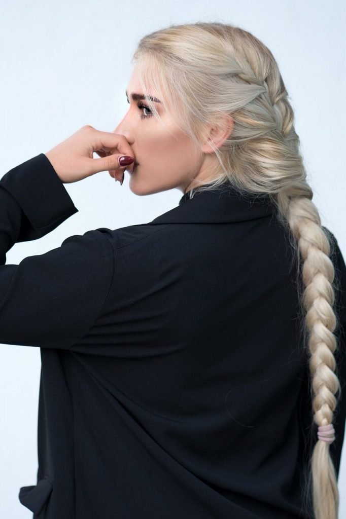 Botox capelli biondi
