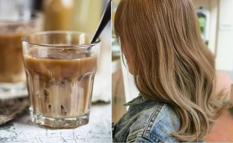Milk tea capelli biondi 2019