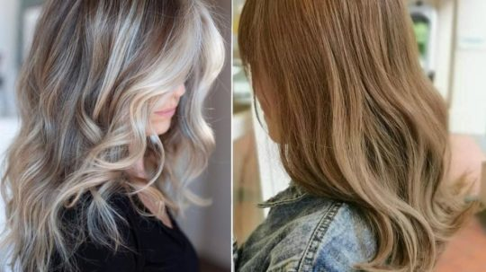 Milk tea mushroom blonde moda capelli 2019