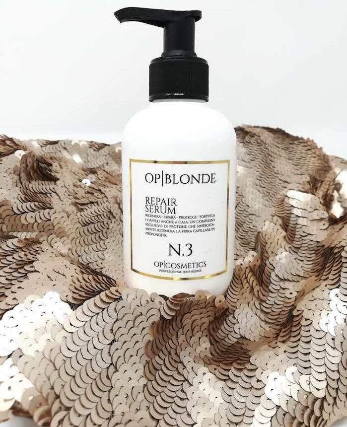 OP blonde repair serum n.3