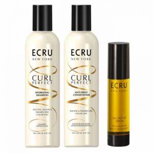 Kit capelli anticrespo ECRU New York