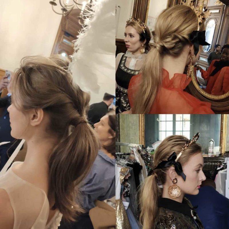 Acconciatura capelli paris fashion week