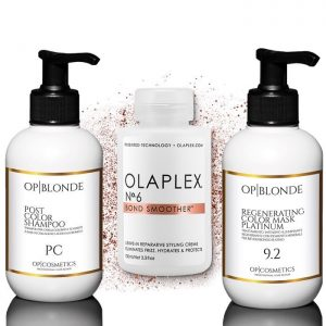 Kit OP|BLONDE Olaplex N.6 platino