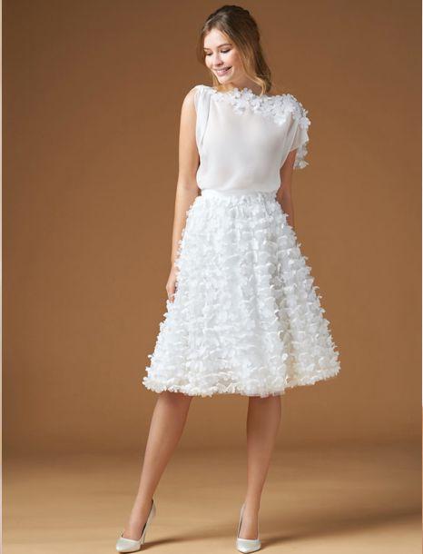 abito sposa corto