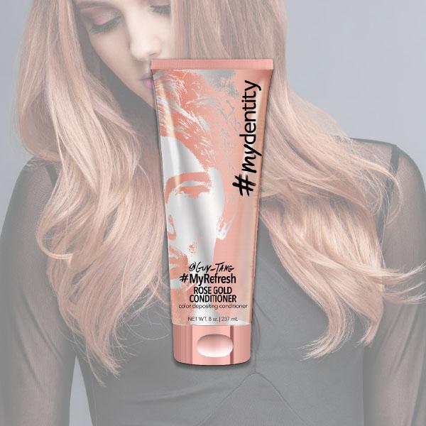 colore rose gold per capelli