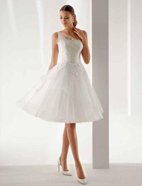sposa abito corto