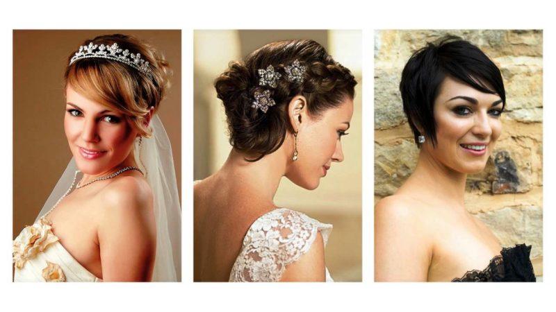 sposa acconciature capelli corti