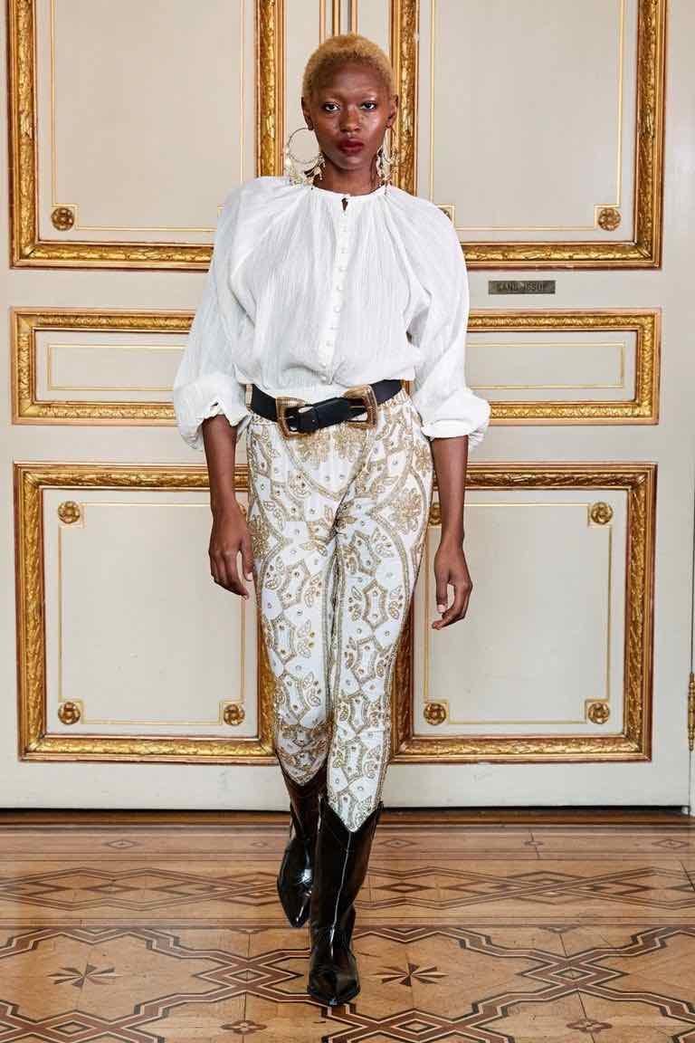 sfilata flying solo paris fashion week
