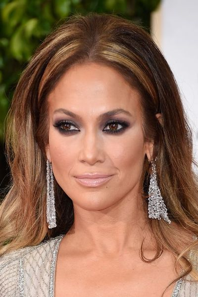 capelli jennifer lopez golden globe 2015
