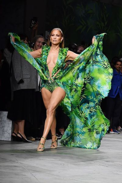 capelli jlo jungle dress 2000