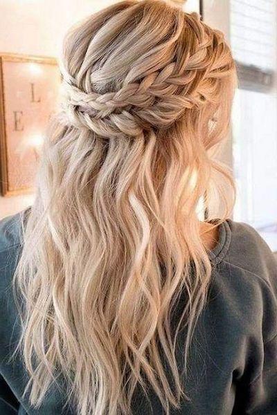 acconciatura capelli sani