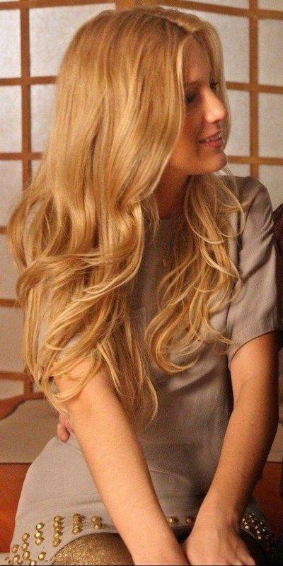 capelli biondo miele styling