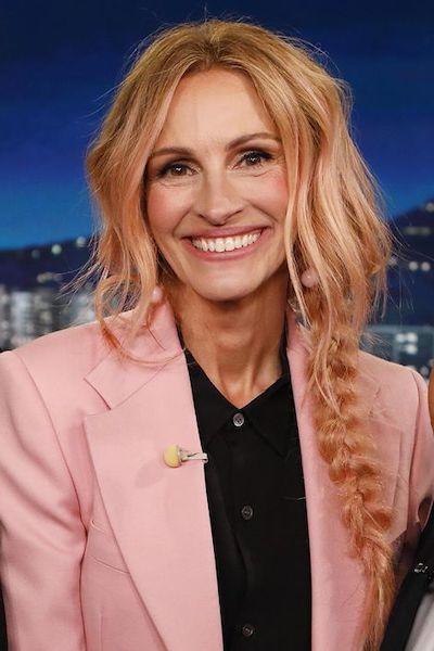julia roberts pink hair 2018