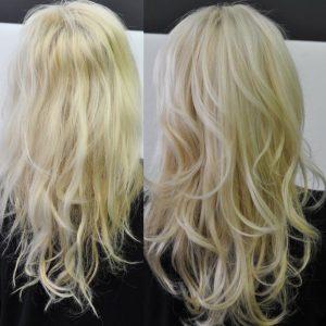 prima dopo op blonde 3