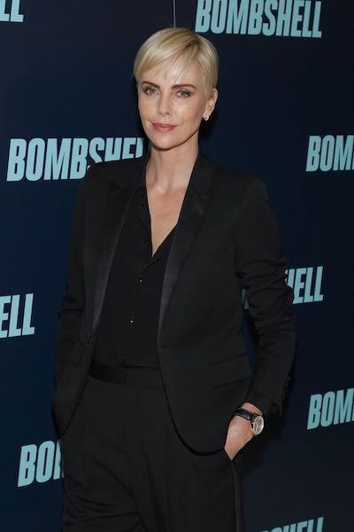 charlize theron pixie cut 2020