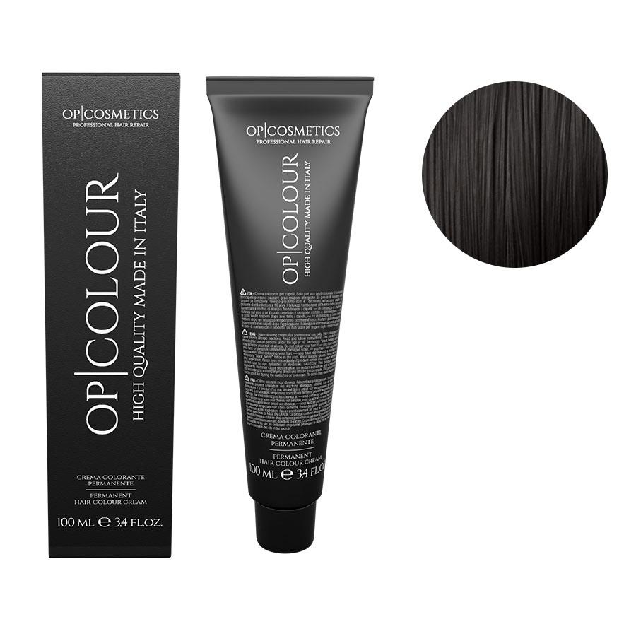 tinte permanenti capelli naturali castano scuro 3 OP|COLOUR