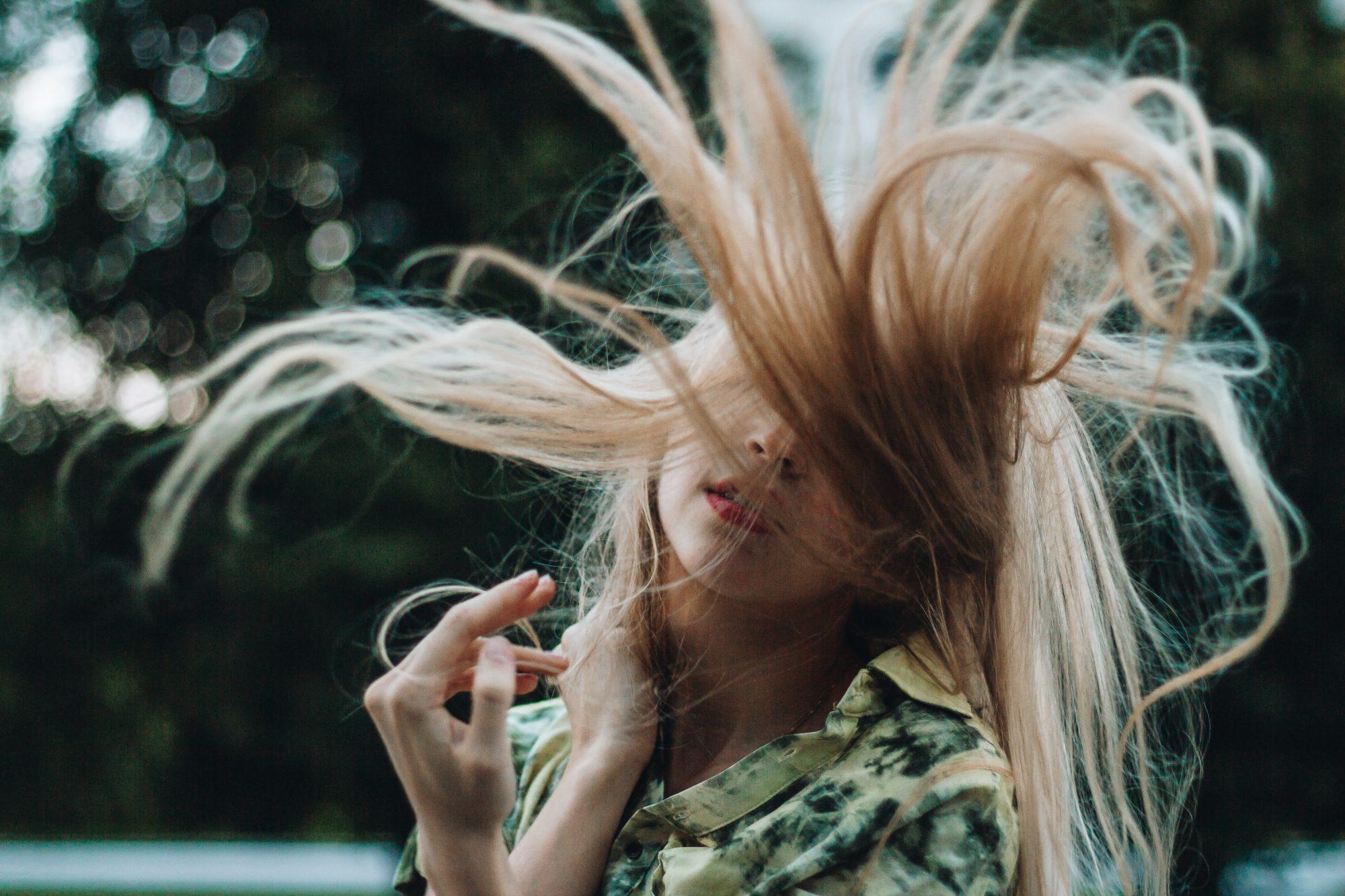 maschera per capelli in autunno