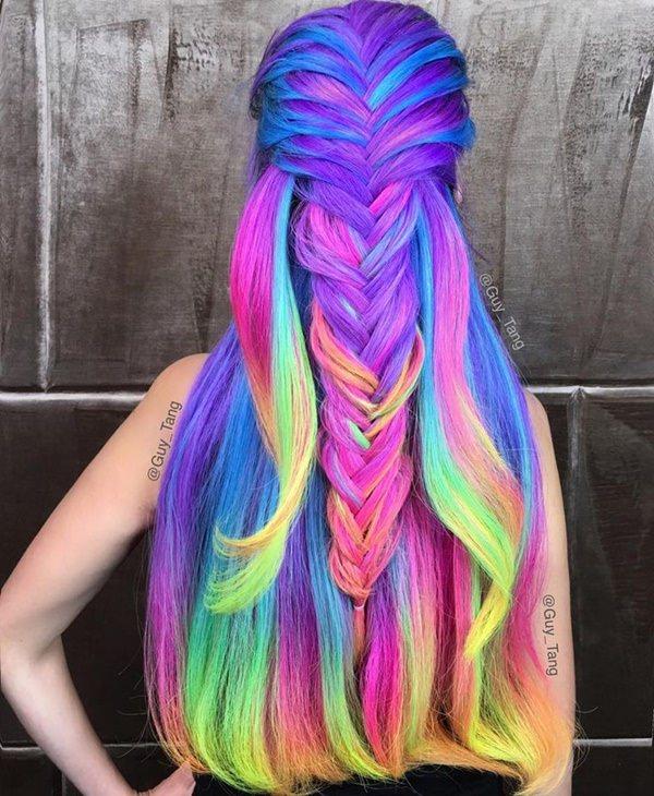 capelli arcobaleno 2020