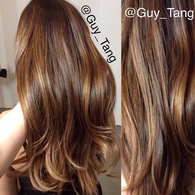 Balayage capelli lunghi