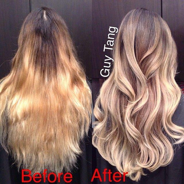 balayage capelli lunghi 2021