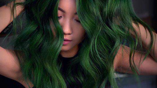 colore capelli verde alpino