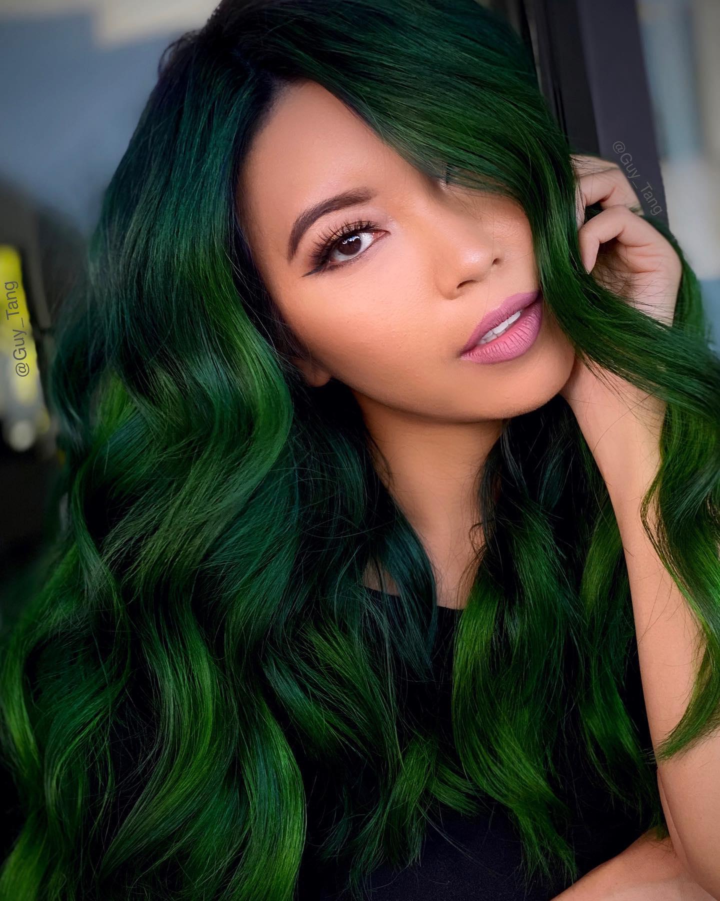 colore verde per capelli