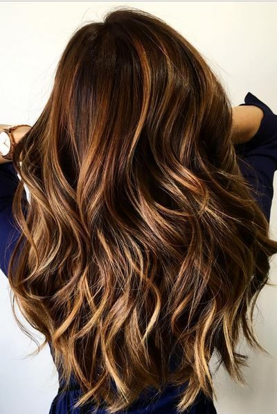 balayage color cannella