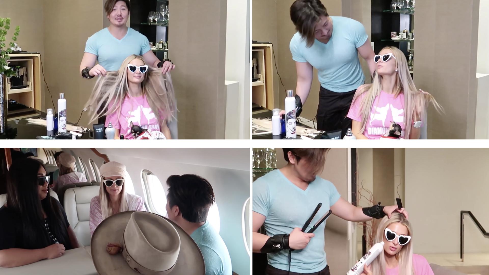 prodotti per capelli Paris Hilton