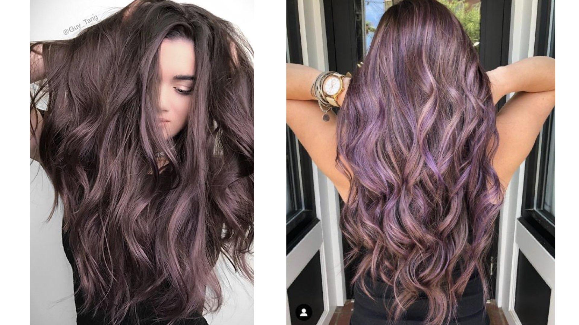 capelli color lavanda