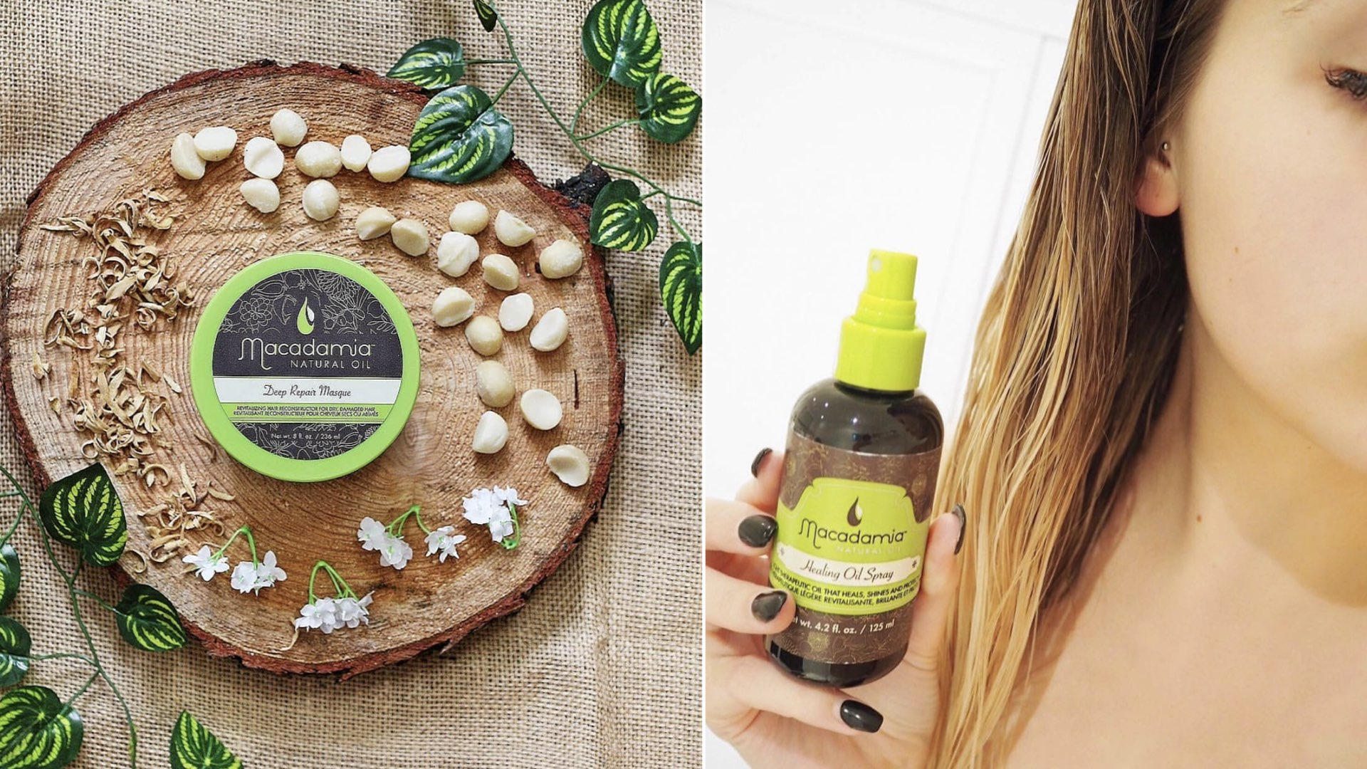 capelli estate 2021 olio di macadamia